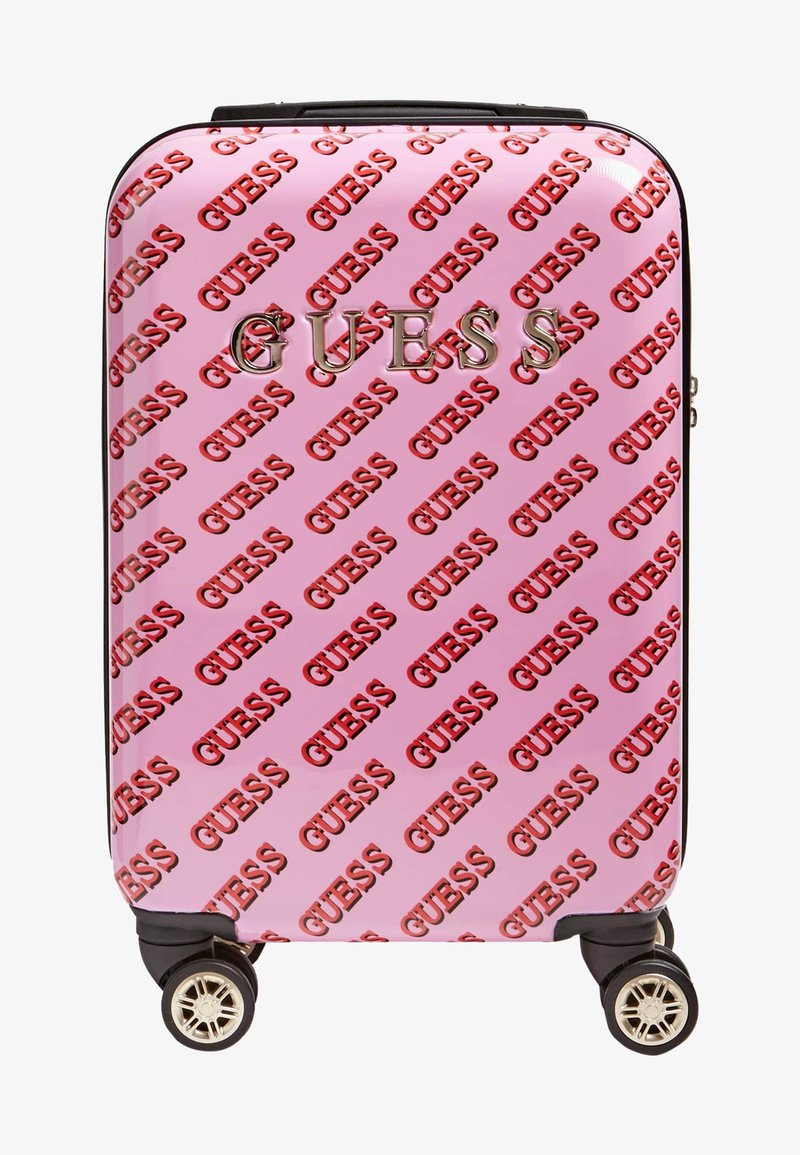 Guess - Wheeled suitcase - light pink