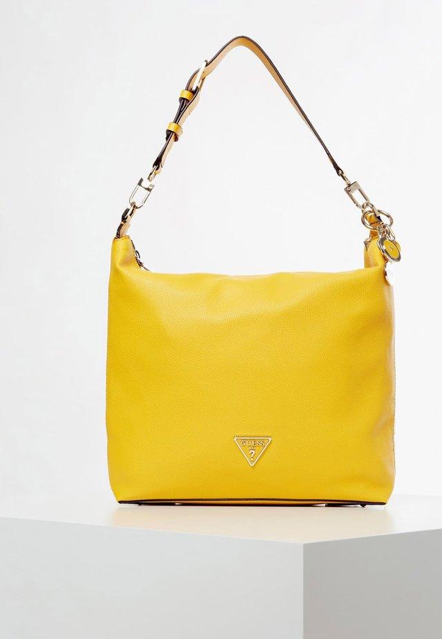 MIT LOGO - Schoudertas - yellow