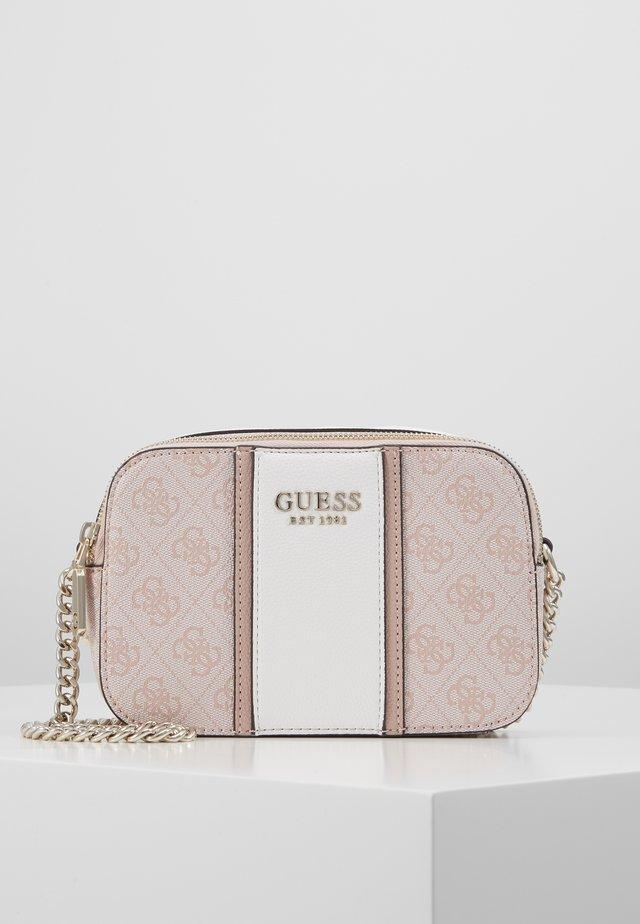 CATHLEEN CAMERA BAG - Across body bag - blush