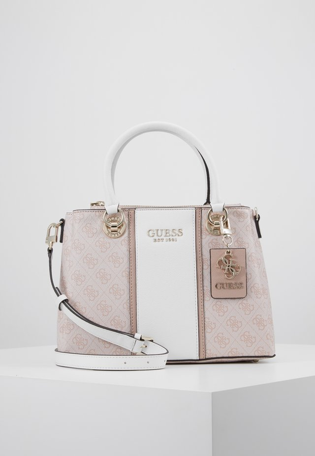CATHLEEN COMPARTMENT  - Handbag - blush