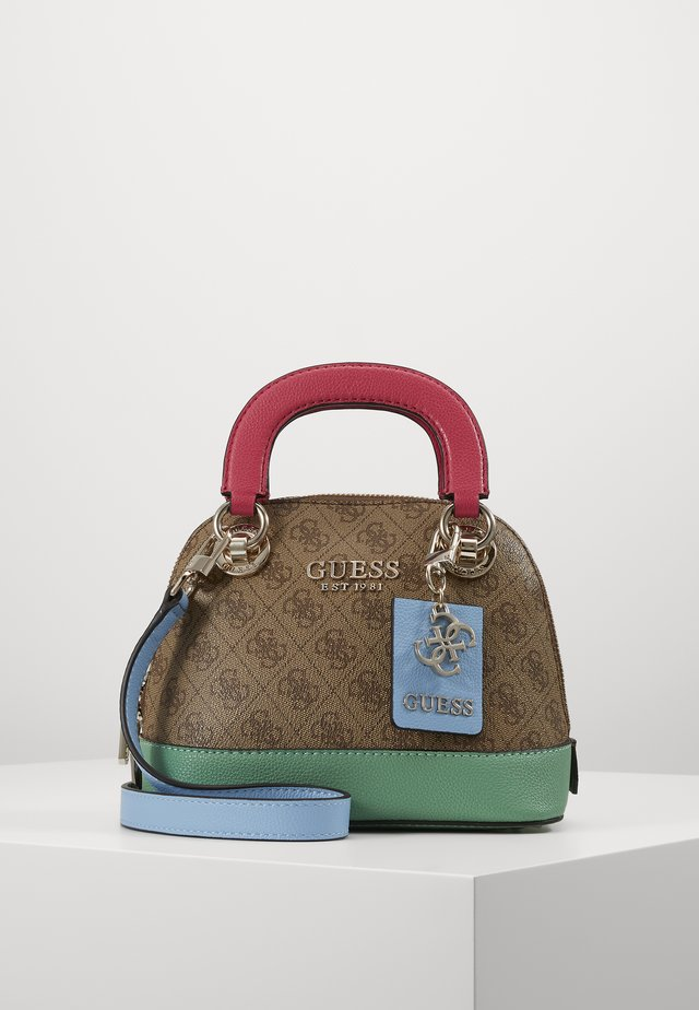 CATHLEEN SMALL DOME SATCHEL - Kabelka - brown/multi