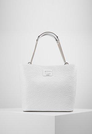 JANAY TOTE - Shopping bag - white