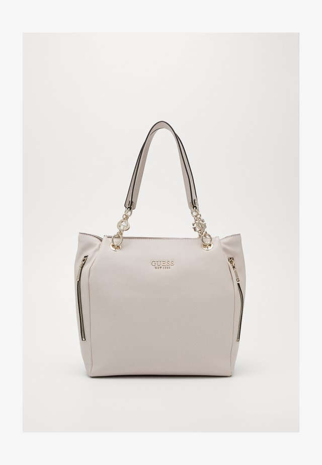 CHAIN TOTE - Shopping bags - stone