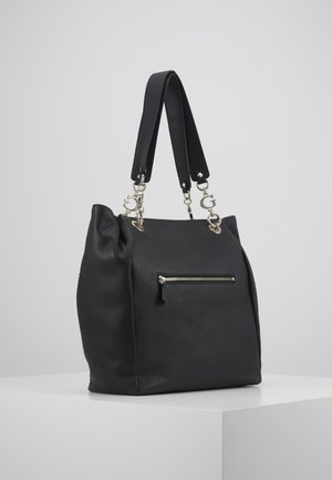 CHAIN TOTE - Bolso shopping - black