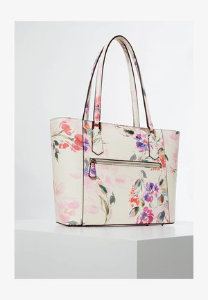 SHOPPER OPEN ROAD - Shopping bag - roze multi