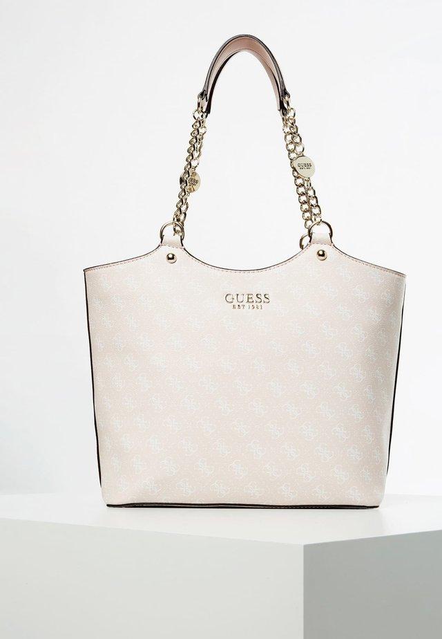 SCHOUDERTAS LORENNA 4G-LOGO - Shopping Bag - poeder roze