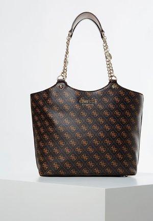 SCHOUDERTAS LORENNA 4G-LOGO - Shopping bag - bruin
