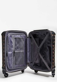 Guess - GUESS TROLLEY WILDER LOGO PEONY - Valise à roulettes - braun - 3