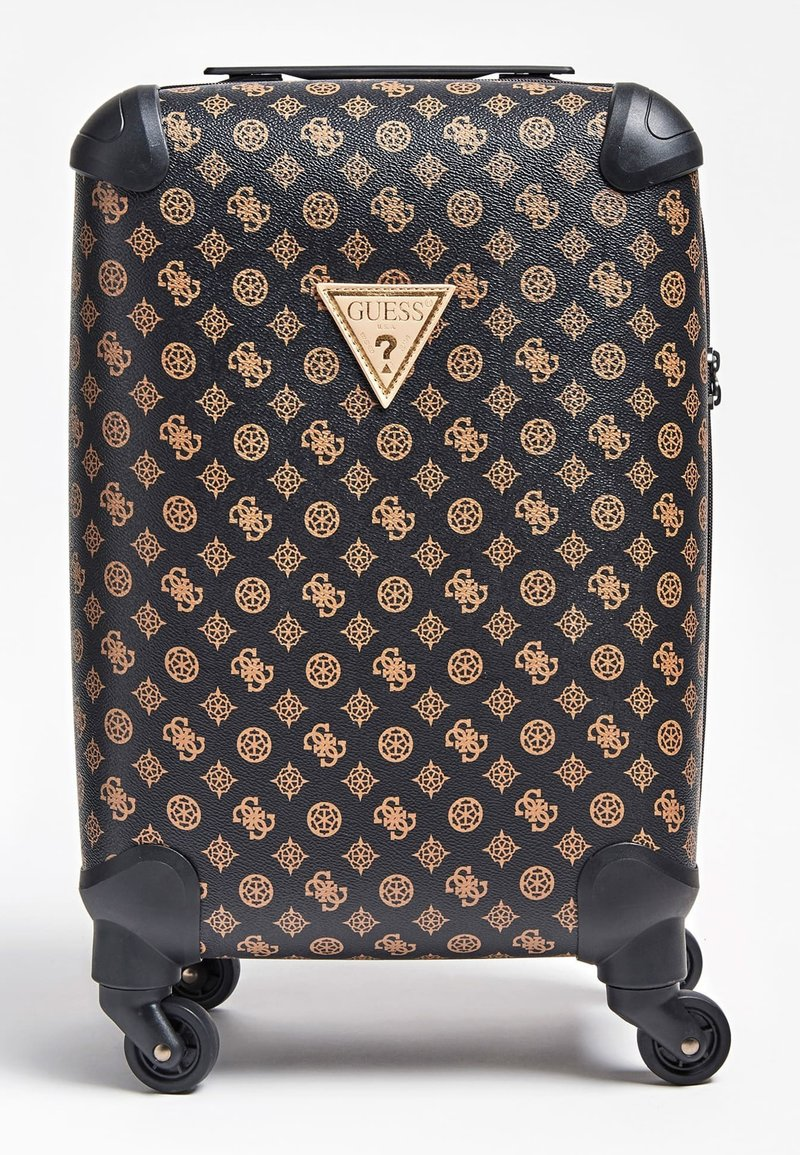 Guess - GUESS TROLLEY WILDER LOGO PEONY - Valise à roulettes - braun
