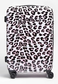Guess - GUESS TROLLEY LORENNA ANIMALPRINT - Valise à roulettes - rose - 0