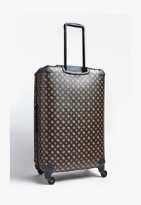 Guess - GUESS TROLLEY WILDER LOGO PEONY - Valise à roulettes - braun - 2