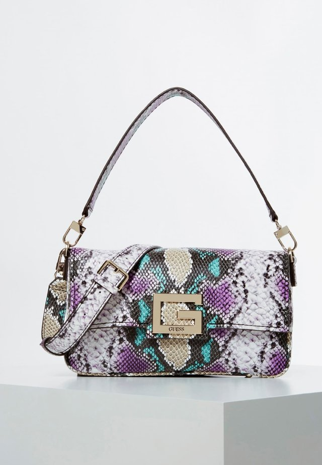 BRIGHTSIDE PYTHONPRINT - Handbag - multi-coloured