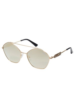 Sunglasses - metallic grey