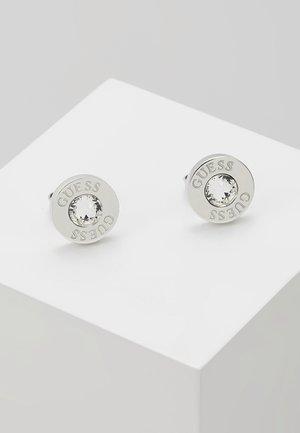 SHINY - Øredobber - silver-coloured