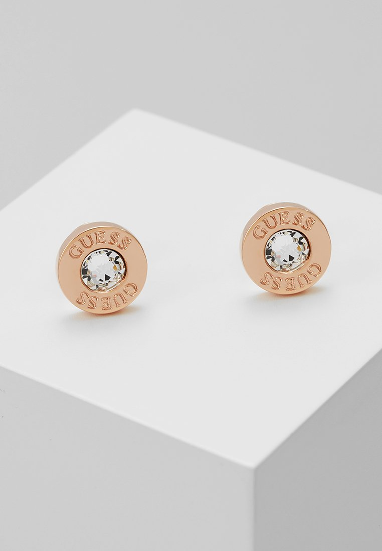 Guess - SHINY - Earrings - rose gold-coloured