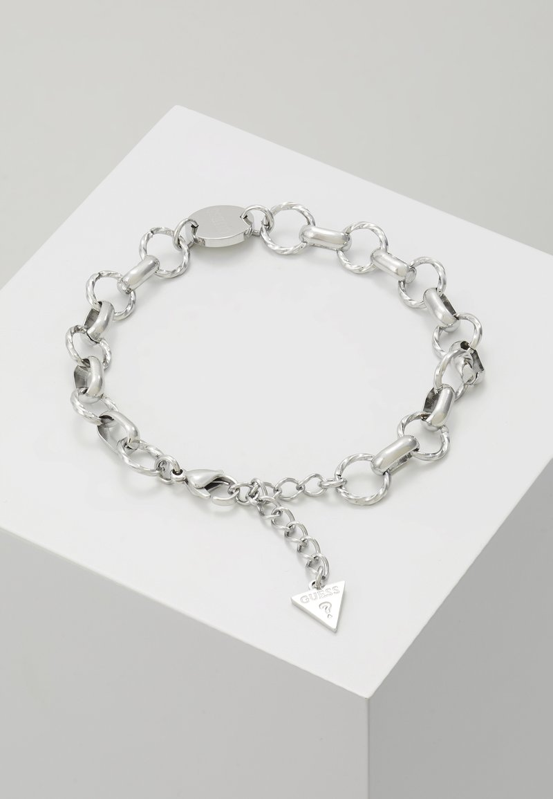 Guess - CHAIN REACTION - Bracciale - silver-coloured