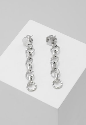CHAIN REACTION - Earrings - silver-coloured