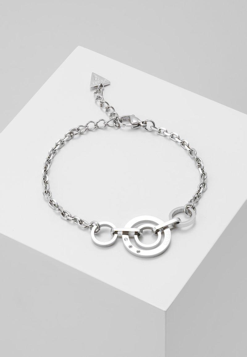 Guess - ETERNAL CIRCLES - Armband - silver-coloured