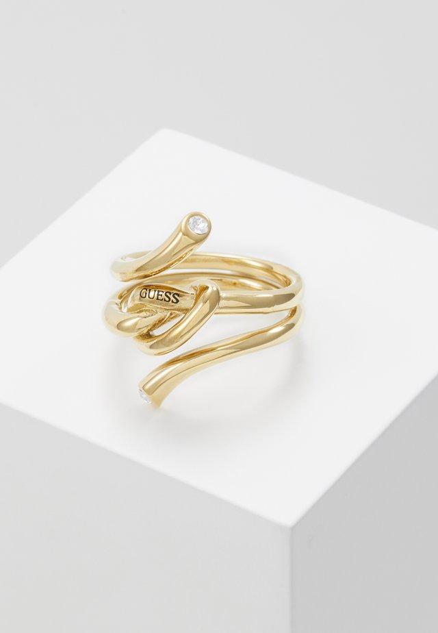 KNOT - Pierścionek - gold-coloured