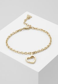 Guess - HEARTED CHAIN - Bracelet - gold-coloured - 0