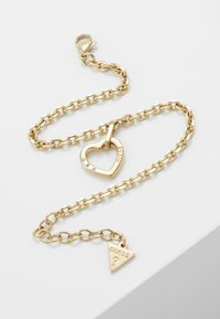 Guess - HEARTED CHAIN - Bracelet - gold-coloured - 4