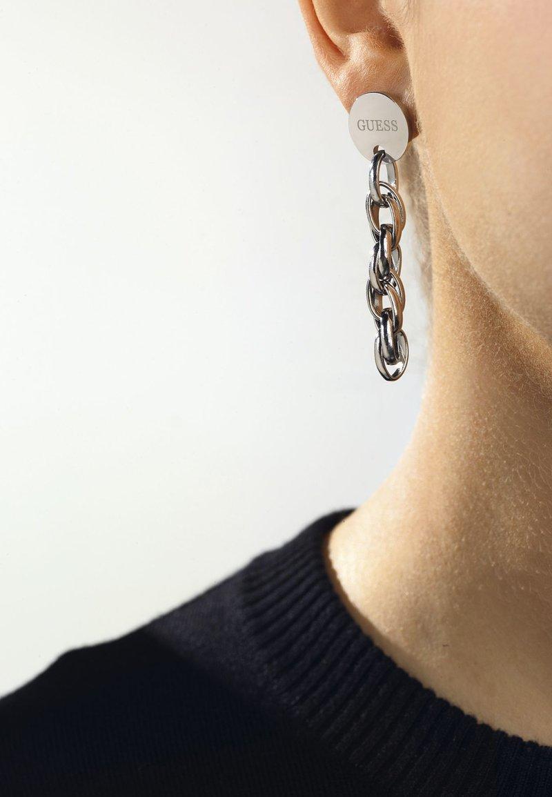 Guess - Oorbellen - silver-coloured