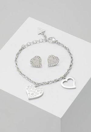 BOX SET - Orecchini - silver-coloured