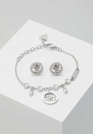 BOX SET - Náušnice - silver-coloured