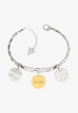 PEONY ART MÜNZEN - Bracelet - silver-coloured