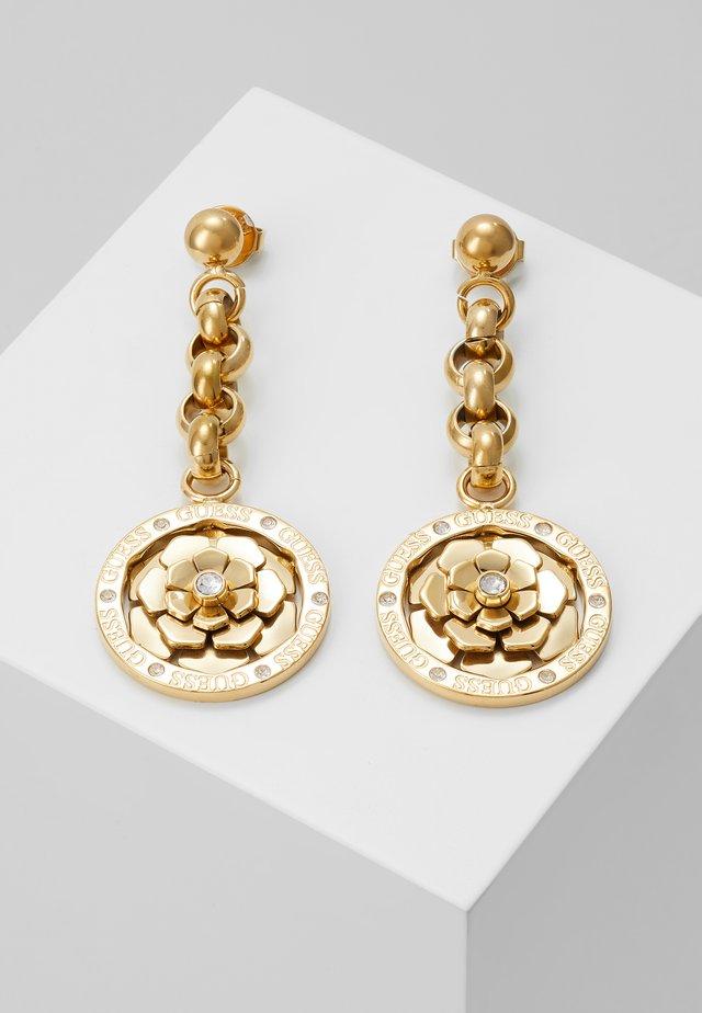 PEONY - Oorbellen - gold-coloured