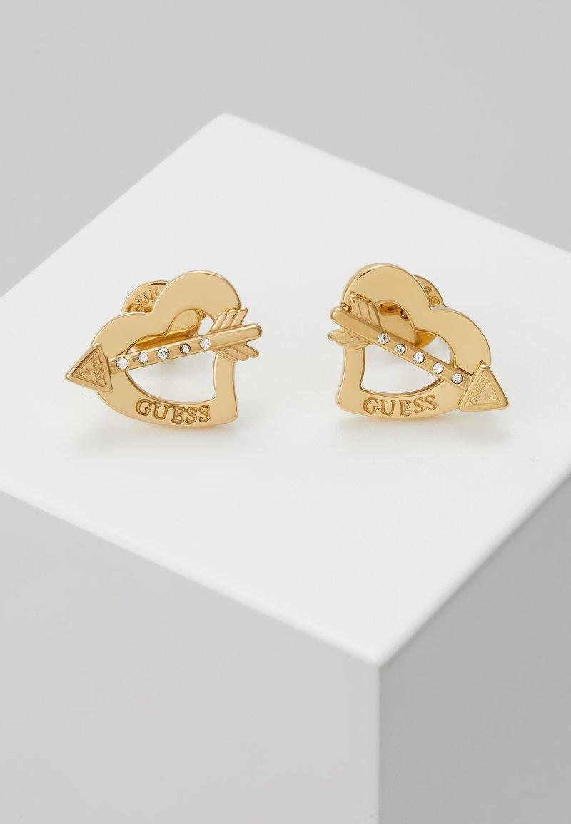 Guess - ACROSS MY HEART - Øredobber - gold-coloured