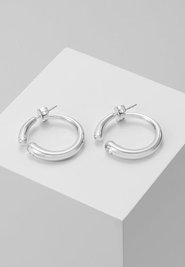 LIQUID - Oorbellen - silver-coloured