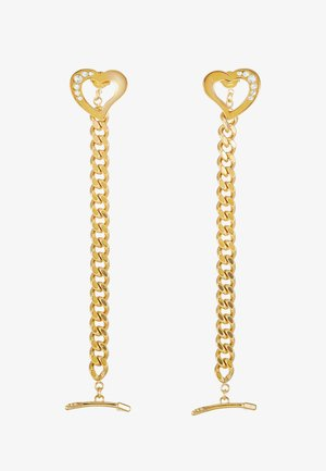 ACROSS MY HEART - Boucles d'oreilles - gold-coloured