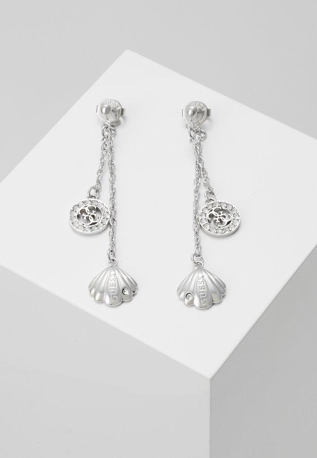 MERMAID - Oorbellen - silver-coloured