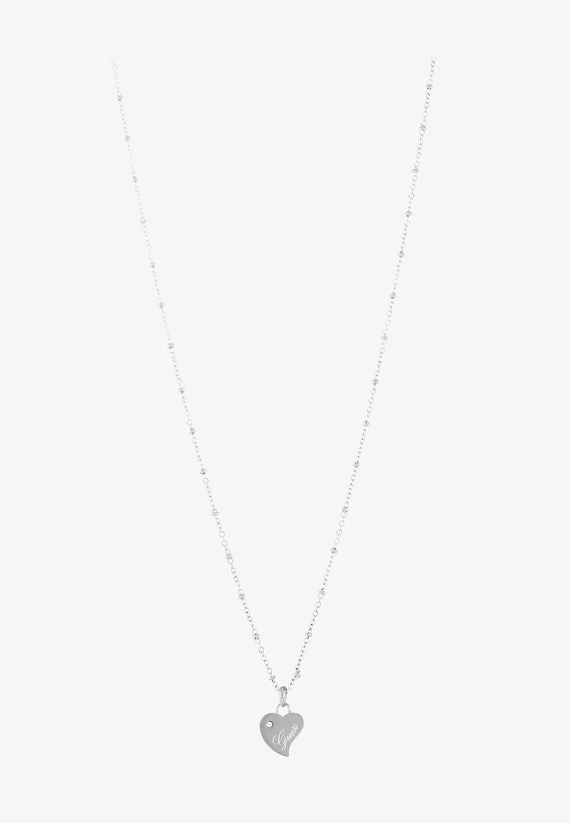 Guess - QUEEN OF HEART - Collier - silver-coloured