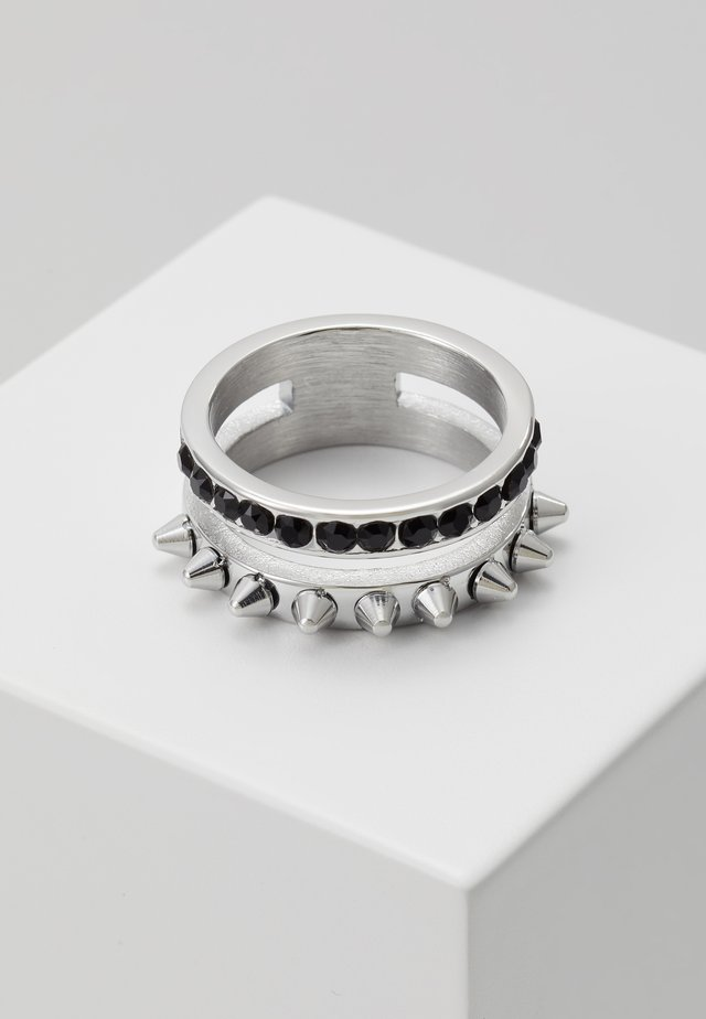REBEL - Ring - silver-coloured