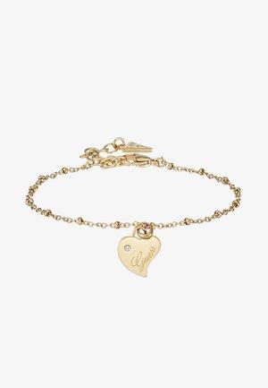 QUEEN OF HEART - Bracelet - gold-coloured