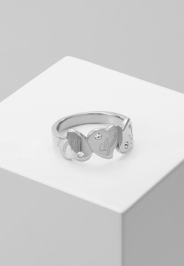 QUEEN OF HEART - Prsten - silver-coloured