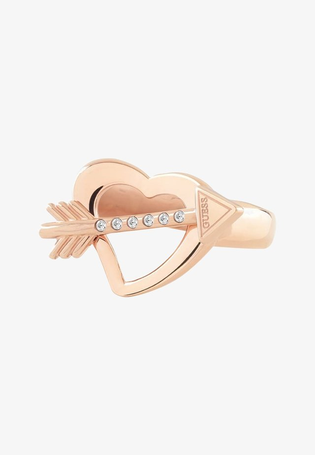 Ring - rose gold coloured