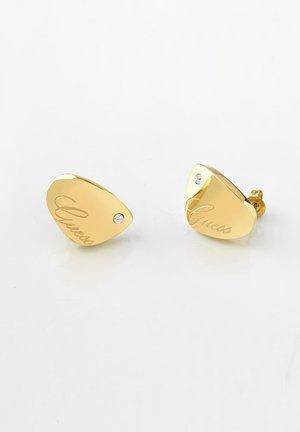 LIQUID - Ohrringe - gold