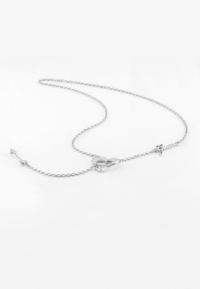ACROSS MY HEART  - Ketting - argent