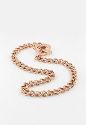 COLLIER «ACROSS MY HEART» - Ketting - rose or