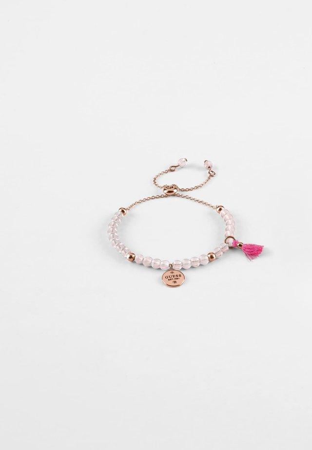 NATURE GIRL - Armband - rose or