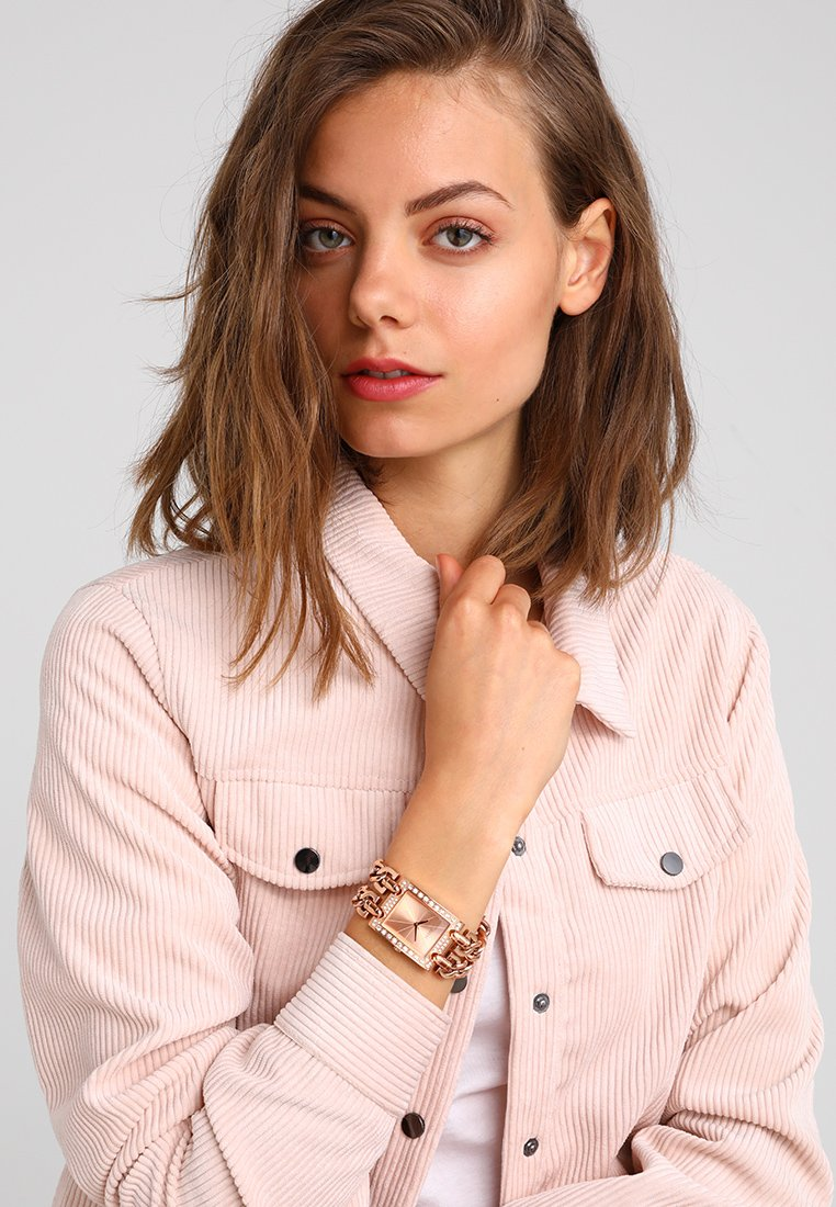 Guess - LADIES TREND - Hodinky - rosegold-coloured