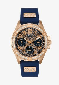 Guess - LADIES SPORT - Watch - blue/rose gold-coloured - 1