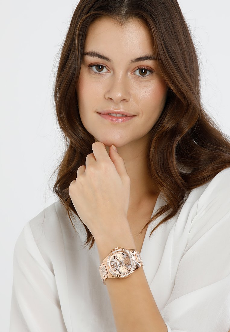 Guess - LADIES SPORT - Hodinky - rose gold-coloured