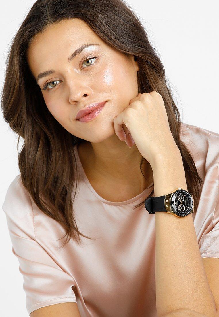 Guess - LADIES SPORT - Horloge - black/gold-coloured