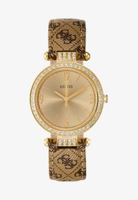 Guess - LADIES - Orologio - gold-coloured/brown - 1