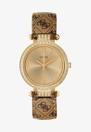 LADIES - Uhr - gold-coloured/brown