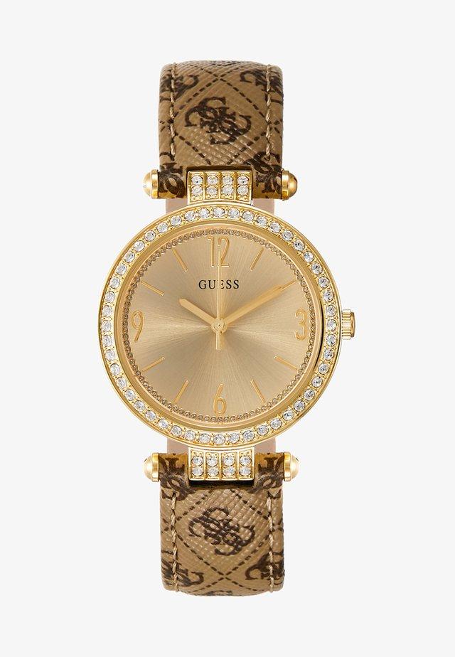 LADIES - Horloge - gold-coloured/brown